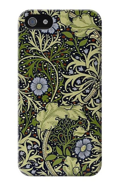 W3792 William Morris Hülle Schutzhülle Taschen und Leder Flip für iPhone 4 4S
