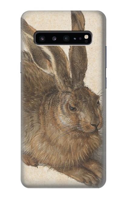W3781 Albrecht Durer Young Hare Hülle Schutzhülle Taschen und Leder Flip für Samsung Galaxy S10 5G