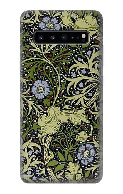 W3792 William Morris Hülle Schutzhülle Taschen und Leder Flip für Samsung Galaxy S10 5G