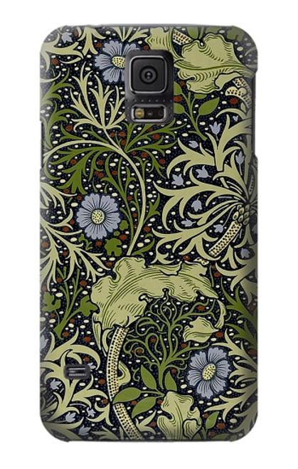 W3792 William Morris Hülle Schutzhülle Taschen und Leder Flip für Samsung Galaxy S5
