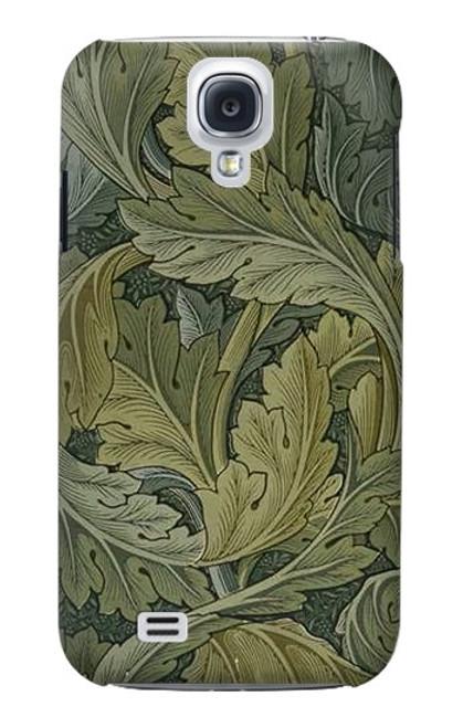 W3790 William Morris Acanthus Leaves Hülle Schutzhülle Taschen und Leder Flip für Samsung Galaxy S4