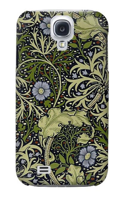 W3792 William Morris Hülle Schutzhülle Taschen und Leder Flip für Samsung Galaxy S4