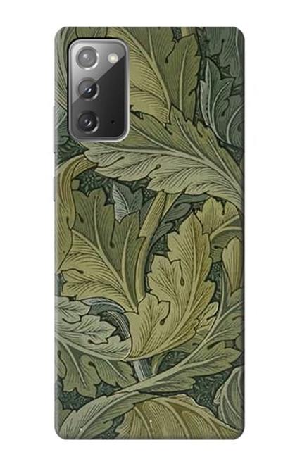 W3790 William Morris Acanthus Leaves Hülle Schutzhülle Taschen und Leder Flip für Samsung Galaxy Note 20