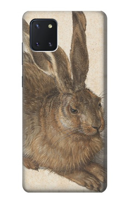 W3781 Albrecht Durer Young Hare Hülle Schutzhülle Taschen und Leder Flip für Samsung Galaxy Note10 Lite