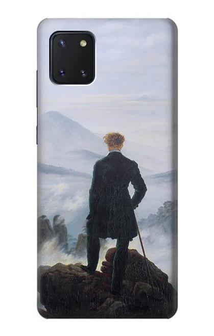 W3789 Wanderer above the Sea of Fog Hülle Schutzhülle Taschen und Leder Flip für Samsung Galaxy Note10 Lite