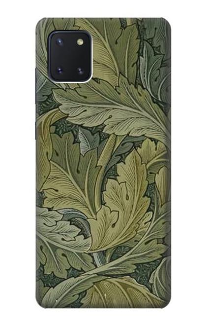 W3790 William Morris Acanthus Leaves Hülle Schutzhülle Taschen und Leder Flip für Samsung Galaxy Note10 Lite