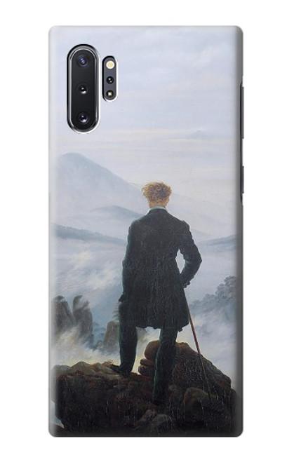 W3789 Wanderer above the Sea of Fog Hülle Schutzhülle Taschen und Leder Flip für Samsung Galaxy Note 10 Plus
