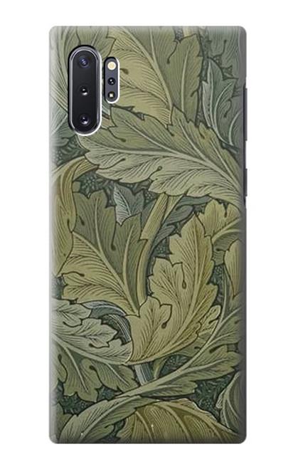W3790 William Morris Acanthus Leaves Hülle Schutzhülle Taschen und Leder Flip für Samsung Galaxy Note 10 Plus
