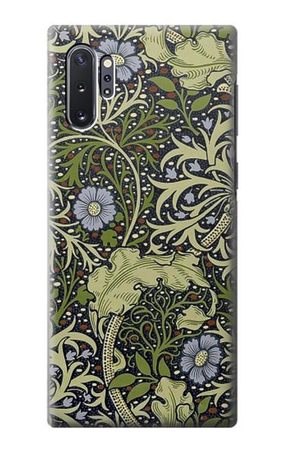 W3792 William Morris Hülle Schutzhülle Taschen und Leder Flip für Samsung Galaxy Note 10 Plus