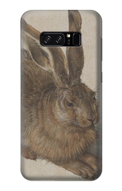 W3781 Albrecht Durer Young Hare Hülle Schutzhülle Taschen und Leder Flip für Note 8 Samsung Galaxy Note8