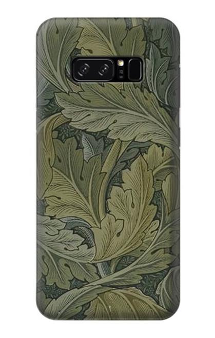 W3790 William Morris Acanthus Leaves Hülle Schutzhülle Taschen und Leder Flip für Note 8 Samsung Galaxy Note8