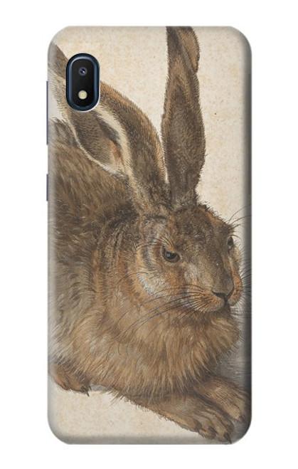W3781 Albrecht Durer Young Hare Hülle Schutzhülle Taschen und Leder Flip für Samsung Galaxy A10e
