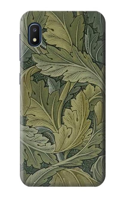 W3790 William Morris Acanthus Leaves Hülle Schutzhülle Taschen und Leder Flip für Samsung Galaxy A10e