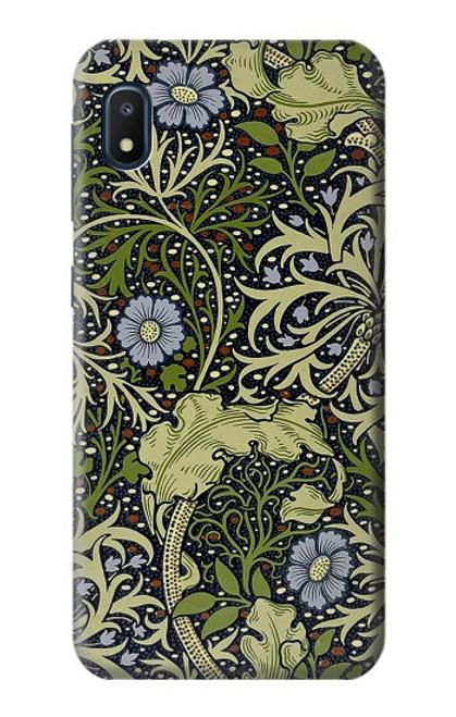 W3792 William Morris Hülle Schutzhülle Taschen und Leder Flip für Samsung Galaxy A10e