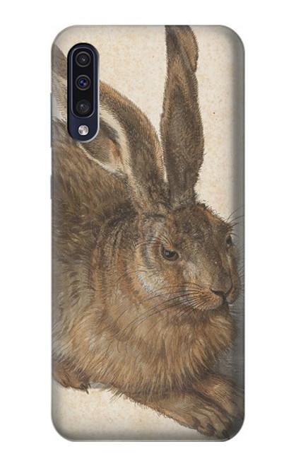 W3781 Albrecht Durer Young Hare Hülle Schutzhülle Taschen und Leder Flip für Samsung Galaxy A50