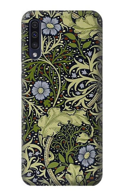 W3792 William Morris Hülle Schutzhülle Taschen und Leder Flip für Samsung Galaxy A50