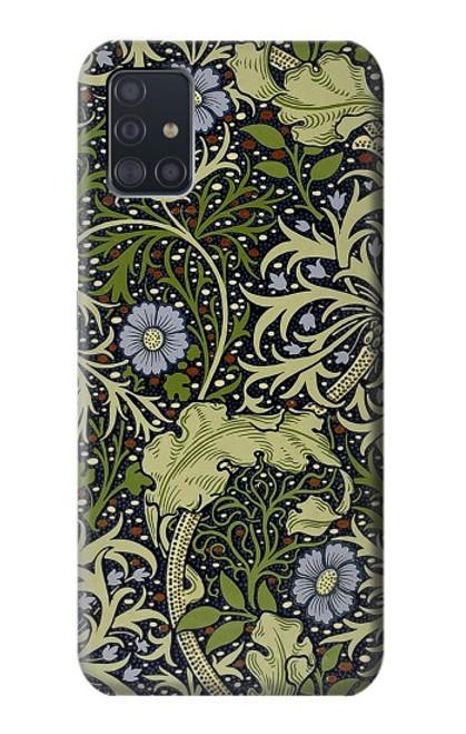 W3792 William Morris Hülle Schutzhülle Taschen und Leder Flip für Samsung Galaxy A51