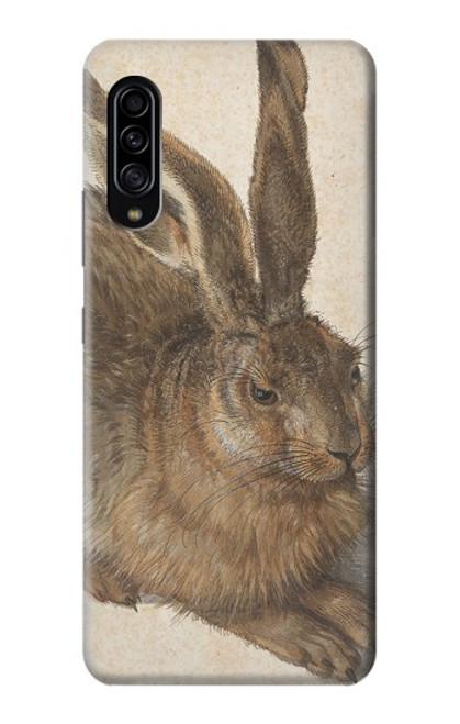 W3781 Albrecht Durer Young Hare Hülle Schutzhülle Taschen und Leder Flip für Samsung Galaxy A90 5G