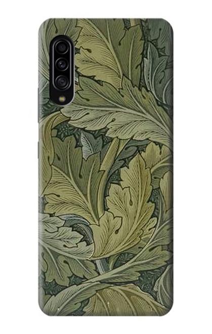 W3790 William Morris Acanthus Leaves Hülle Schutzhülle Taschen und Leder Flip für Samsung Galaxy A90 5G
