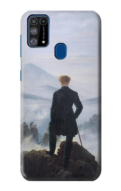 W3789 Wanderer above the Sea of Fog Hülle Schutzhülle Taschen und Leder Flip für Samsung Galaxy M31