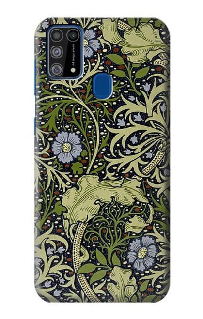 W3792 William Morris Hülle Schutzhülle Taschen und Leder Flip für Samsung Galaxy M31