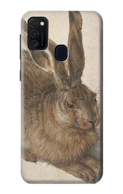 W3781 Albrecht Durer Young Hare Hülle Schutzhülle Taschen und Leder Flip für Samsung Galaxy M21