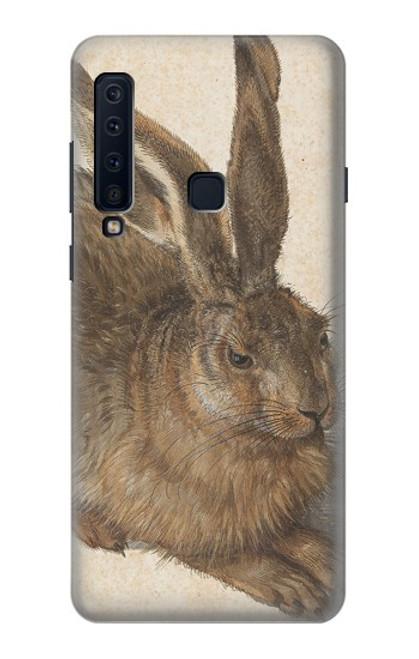 W3781 Albrecht Durer Young Hare Hülle Schutzhülle Taschen und Leder Flip für Samsung Galaxy A9 (2018), A9 Star Pro, A9s