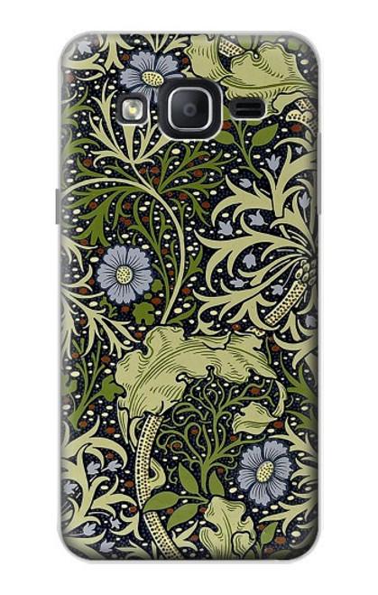 W3792 William Morris Hülle Schutzhülle Taschen und Leder Flip für Samsung Galaxy On5
