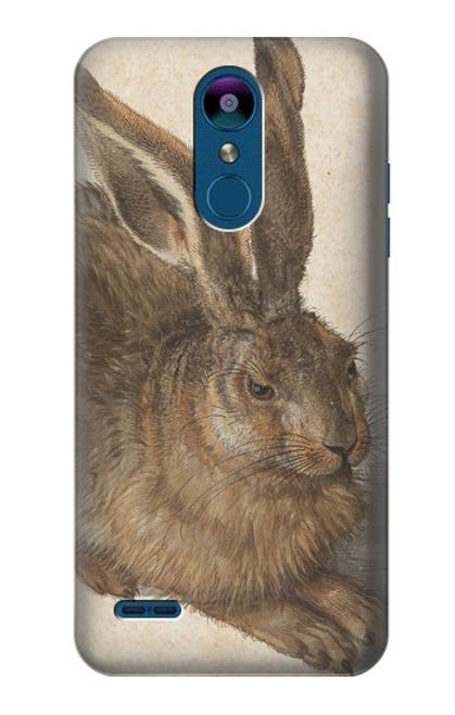 W3781 Albrecht Durer Young Hare Hülle Schutzhülle Taschen und Leder Flip für LG K8 (2018)