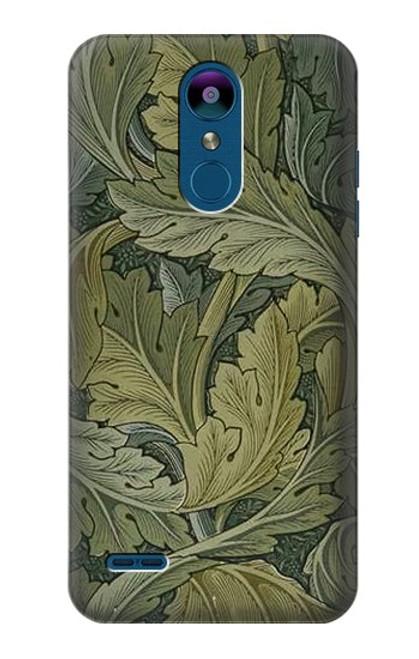W3790 William Morris Acanthus Leaves Hülle Schutzhülle Taschen und Leder Flip für LG K8 (2018)