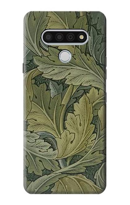 W3790 William Morris Acanthus Leaves Hülle Schutzhülle Taschen und Leder Flip für LG Stylo 6