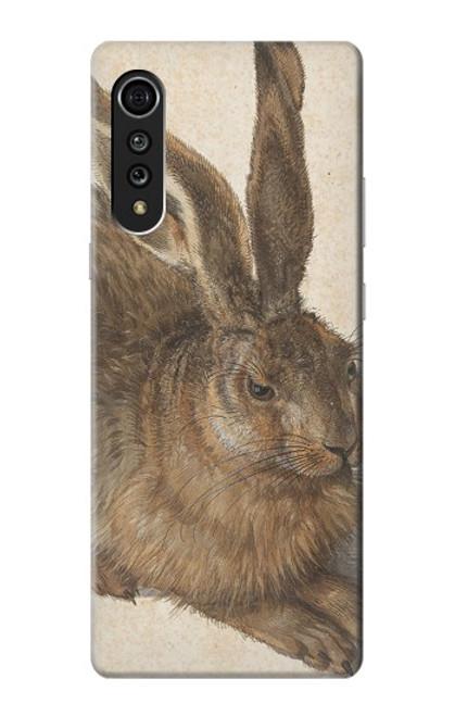 W3781 Albrecht Durer Young Hare Hülle Schutzhülle Taschen und Leder Flip für LG Velvet