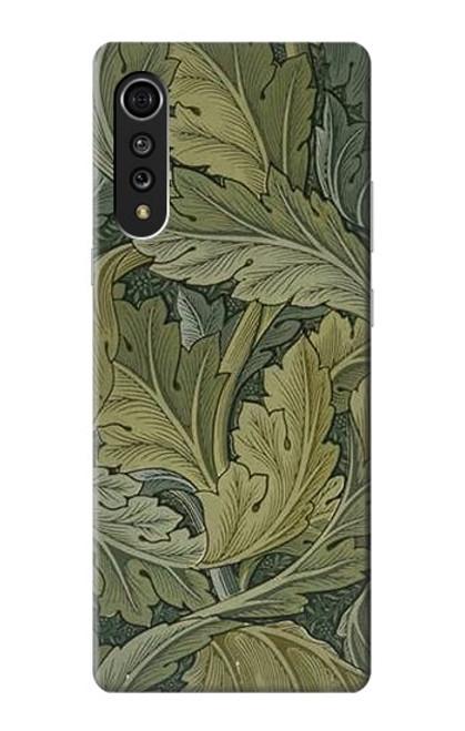 W3790 William Morris Acanthus Leaves Hülle Schutzhülle Taschen und Leder Flip für LG Velvet