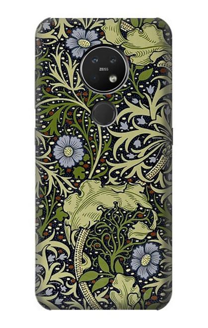 W3792 William Morris Hülle Schutzhülle Taschen und Leder Flip für Nokia 7.2