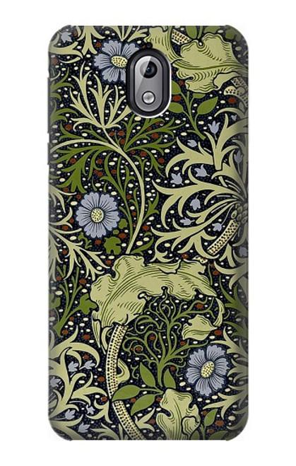 W3792 William Morris Hülle Schutzhülle Taschen und Leder Flip für Nokia 3.1