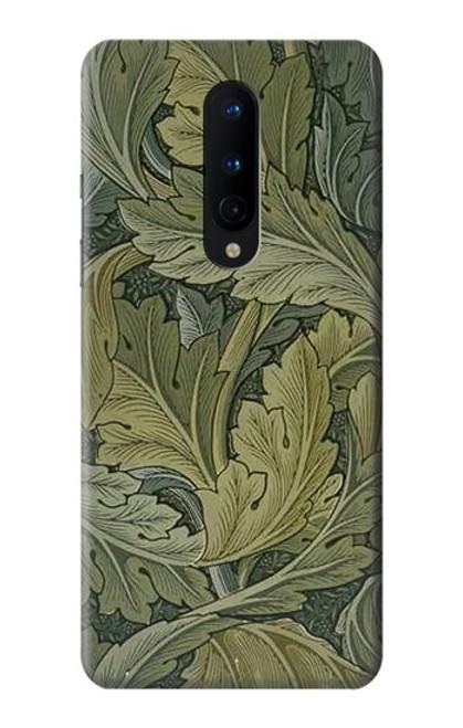 W3790 William Morris Acanthus Leaves Hülle Schutzhülle Taschen und Leder Flip für OnePlus 8