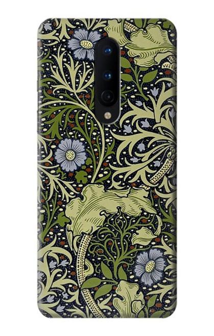 W3792 William Morris Hülle Schutzhülle Taschen und Leder Flip für OnePlus 8