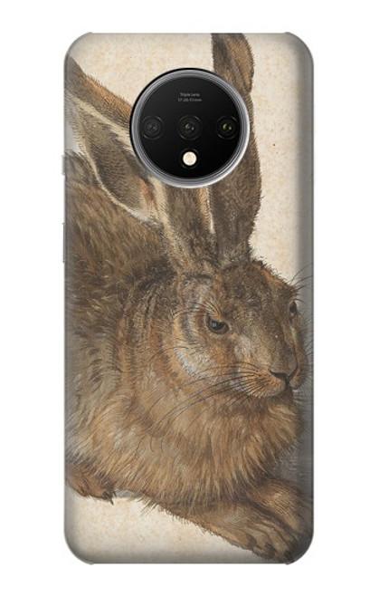 W3781 Albrecht Durer Young Hare Hülle Schutzhülle Taschen und Leder Flip für OnePlus 7T