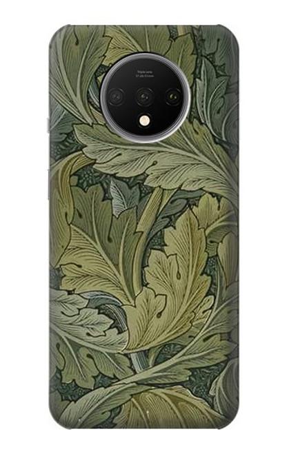 W3790 William Morris Acanthus Leaves Hülle Schutzhülle Taschen und Leder Flip für OnePlus 7T