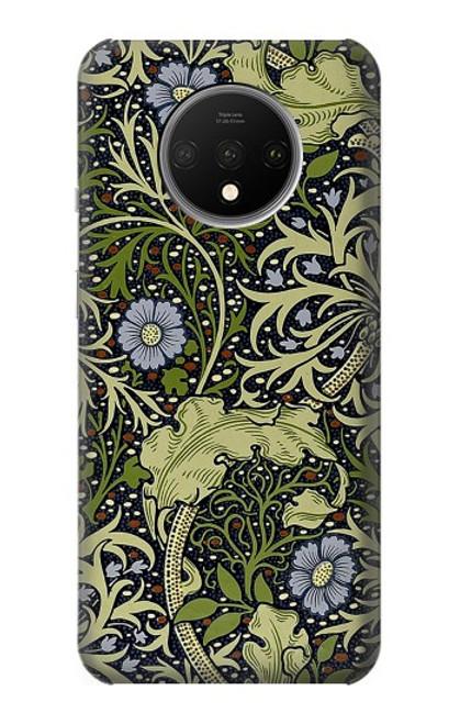 W3792 William Morris Hülle Schutzhülle Taschen und Leder Flip für OnePlus 7T