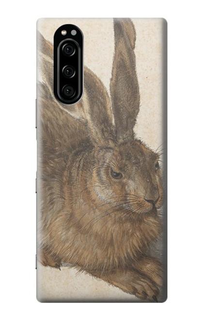W3781 Albrecht Durer Young Hare Hülle Schutzhülle Taschen und Leder Flip für Sony Xperia 5