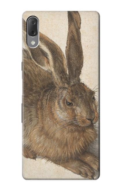 W3781 Albrecht Durer Young Hare Hülle Schutzhülle Taschen und Leder Flip für Sony Xperia L3