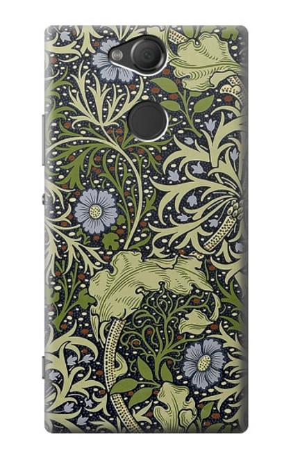W3792 William Morris Hülle Schutzhülle Taschen und Leder Flip für Sony Xperia XA2