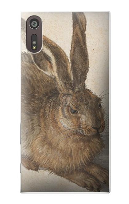 W3781 Albrecht Durer Young Hare Hülle Schutzhülle Taschen und Leder Flip für Sony Xperia XZ