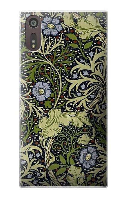 W3792 William Morris Hülle Schutzhülle Taschen und Leder Flip für Sony Xperia XZ