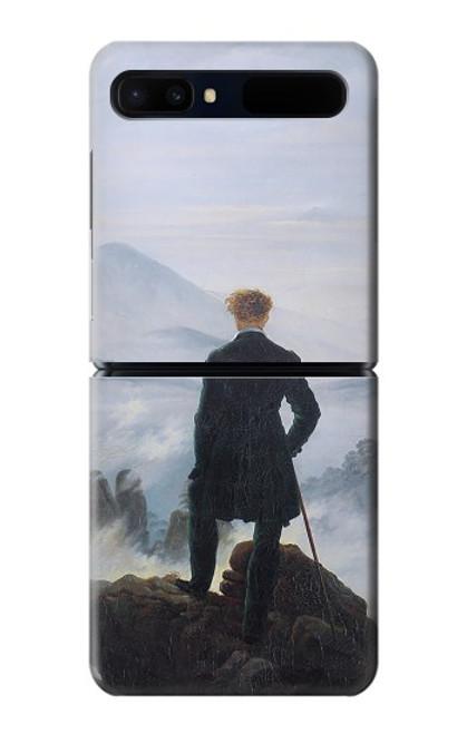 W3789 Wanderer above the Sea of Fog Hülle Schutzhülle Taschen und Leder Flip für Samsung Galaxy Z Flip 5G