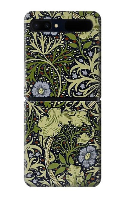W3792 William Morris Hülle Schutzhülle Taschen und Leder Flip für Samsung Galaxy Z Flip 5G