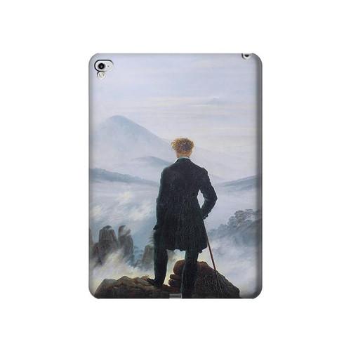 W3789 Wanderer above the Sea of Fog Tablet Hülle Schutzhülle Taschen für iPad Pro 12.9 (2015,2017)