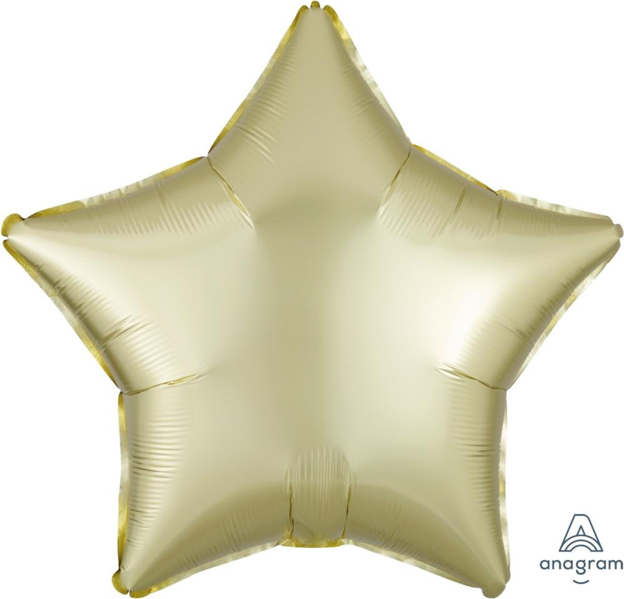 """New 18/"""" ROSE COPPER Satin Luxe Helium Foil BALLOON Star Round Circle Heart"""