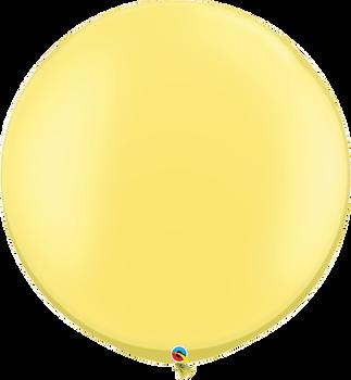 "30""Q Pearl Lemon Chiffon (2 count)"